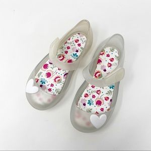 Igor Toddler White/Clear Mary Jane Jelly Shoes